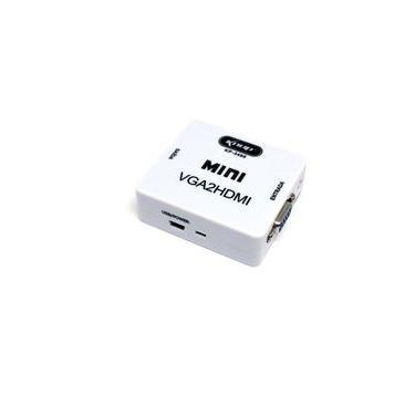 Adaptador Conversor Vga Para Hdmi Com Áudio 1280x1024