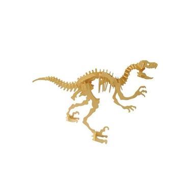 Imagem de Quebra Cabeça 3D Wamboo Velociraptor 51 Peças