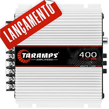Modulo Taramps 400 Trio 2 Ohm Para Caixa Trio Amplificador