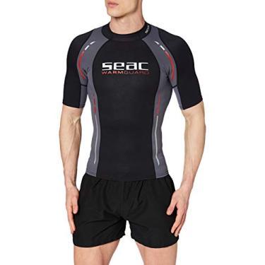 SEAC – Roupa de mergulho masculina, Preto, X-Small