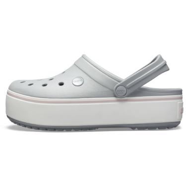 Sandália Crocs Crocband  Cinza  feminino