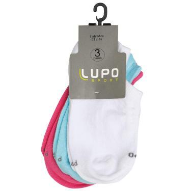 Meia Lupo AF Sport Sap. K3 Lisa, Lupo, Feminino, Sortida 959, 33 a 36