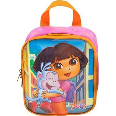Lancheira Dora - Boots Special Day - 8784 - Artigo Escolar Dora, a Aventureira, Rosa