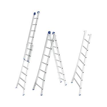Escada Extensível De Alumínio 14 Degraus 2X7 Mor 5203