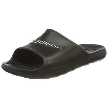 Imagem de Chinelo Nike Victori One Shower Slide Black White Masculino TAMANHO:42;COR:Preto;GENERO_GOOGLE:Masculino;IDADE_GOOGLE:Ad
