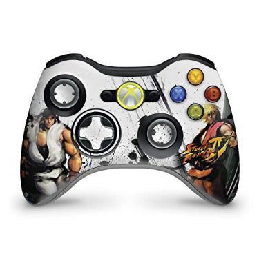 Skin Adesivo Para Xbox 360 Controle - Street Fighter 4#a