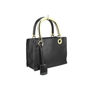 Bolsa Feminina em Couro Quadrada Pequena de Mão Verniz Carrano 800486