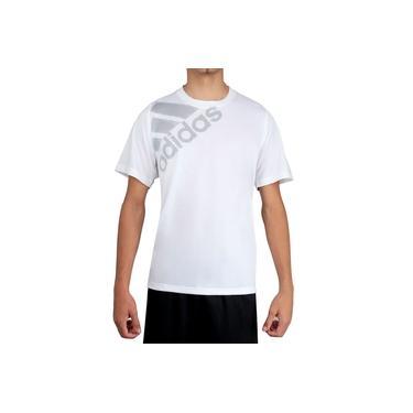 Camiseta Adidas FLSPR GF Bos Branca