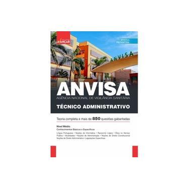 Imagem de Apostila Concurso ANVISA - Técnico Administrativo