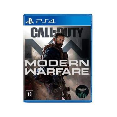 Jogo - Call Of Duty Modern Warfare - PS4