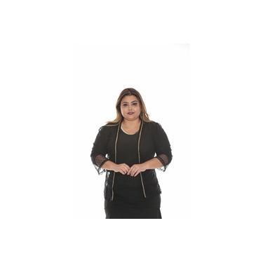 Blusa bolero PLUS SIZE roupa feminina tamanho grande cod 071