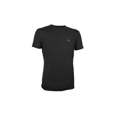 Camiseta Dry Cool UPF50+ Masculina MC Conquista Preto