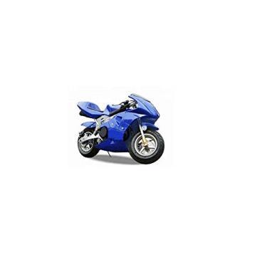 Mini Moto GP Ninja 49cc - DSR (Azul)