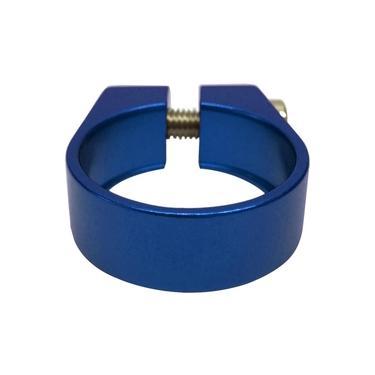 Abraçadeira de Selim Cly 31.8mm em Alumínio Azul