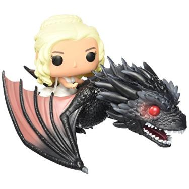 Daenerys Targaryen E Drogon - Funko Pop Game Of Thrones