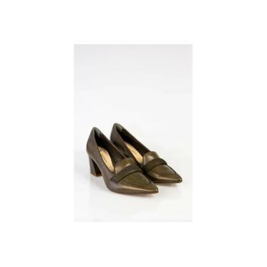 Sapato Verde Olivo Capodarte