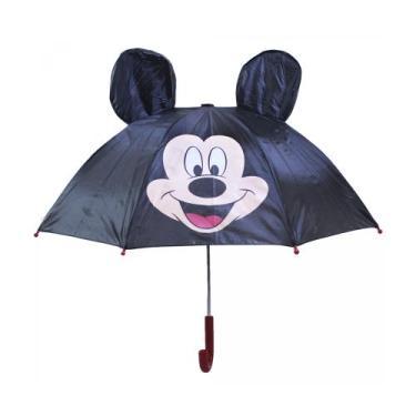 Guarda Chuva Orelhas Mickey Original Automático Disney Top - Drina