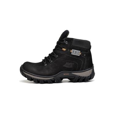 Bota Coturno Adventure Caterpillar Trivalle Shoes Preto