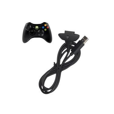 Cabo 2 Em 1 Carregador De Energia Para Controle Xbox 360
