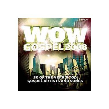 CD Wow: Gospel 2008 (Duplo)
