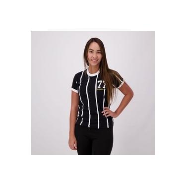 Imagem de Camisa Corinthians Retrô 1977 Feminina