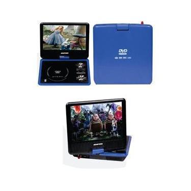 DVD Portátil com TV Digital e jogos de 7,5 polegadas