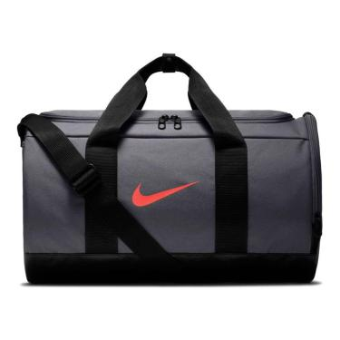 Bolsa Nike Team Duffle BA5797-070, Cor: Preto/vermelho, Tamanho: U