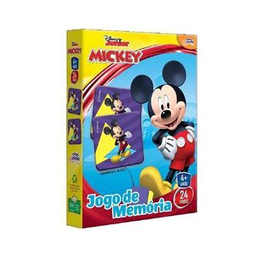 Imagem de Jogo Da Memória Mickey 48 Peças