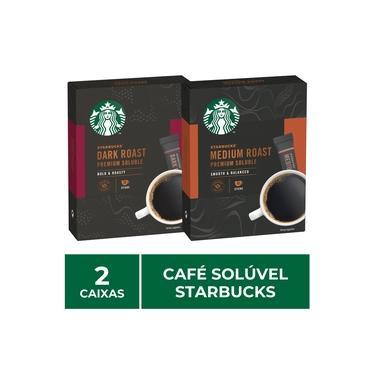 2 Caixas de Café Solúvel Instantâneo, Starbucks