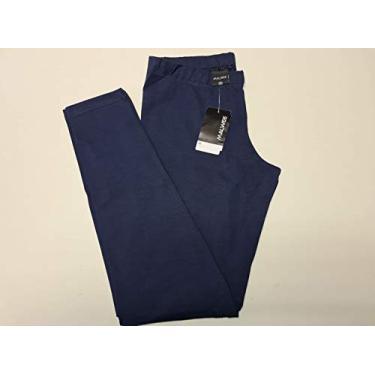 Calça Legging Cotton Lycra Malwee 9702 Tamanho:P;Cor:Azul Marinho