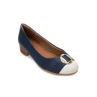 Sapato Usaflex UF21-AD0407 Marinho/Creme