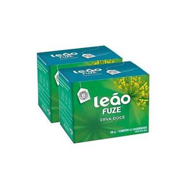 Chá Leão Fuze Erva-Doce 30g Com 30 Saquinhos C/2cx