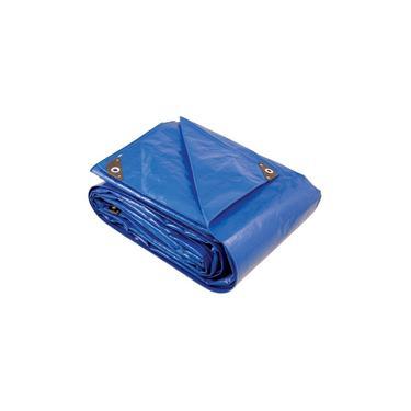 Lona Agrícola Multiuso Plástica Polietileno Reforçada 3 X 3 M Pl 200 Micras - Azul - Vonder