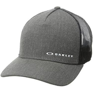 Boné Oakley Aba Curva Mod Chalten Cap Masculino - Grafite - Único