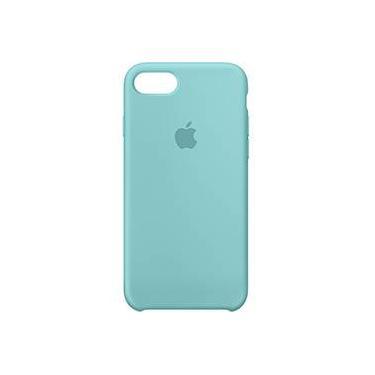 Capa para iPhone 7 em Silicone Azul Claro - Apple