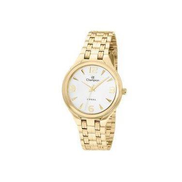 b7eafa9b996 Relógio Champion Feminino Ref  Ca20269h Clássico Dourado