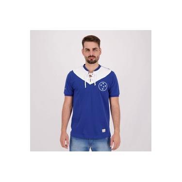 Camisa Cruzeiro Retrô 1943 Azul