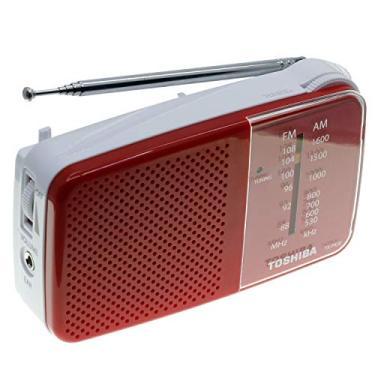 Rádio Toshiba Tx-pr20 Fm/am - Vermelho