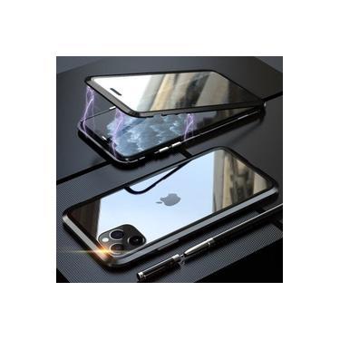 Capa Case Magnética Blindada Apple iPhone 11 Pro Max - Preto
