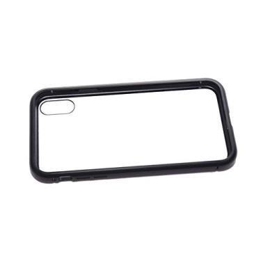 Capa Case Magnética Super Luxo IPhone XR Cor Preto