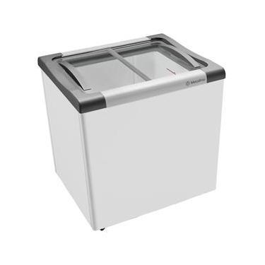 Freezer Horizontal Tampa de Vidro para Sorvetes e Congelados 180 Litros NF20LCD - Metalfrio