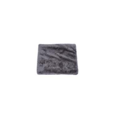Malha cinza cachecol de lã dos homens