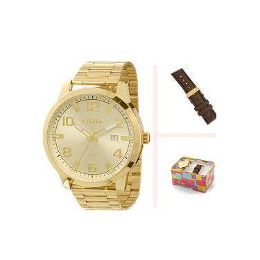 ab153d87faa Kit Relógio Condor Masculino Troca Pulseira Co2115ta 4d