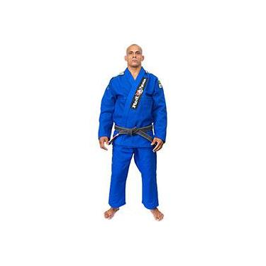 Kimono para Jiu-Jitsu Top World Red Nose Azul