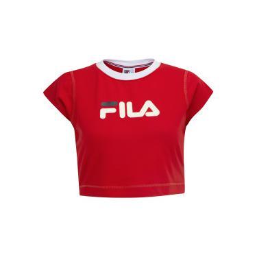Blusa Cropped Fila Pia II - Feminina Fila Feminino