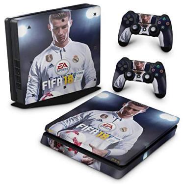 Skin Adesivo para PS4 Slim - Fifa 18