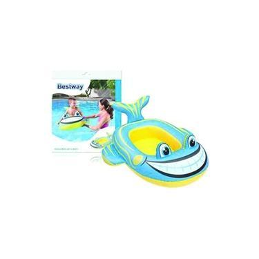 Boia Bote inflavel piscina Peixe Azul - Bestway