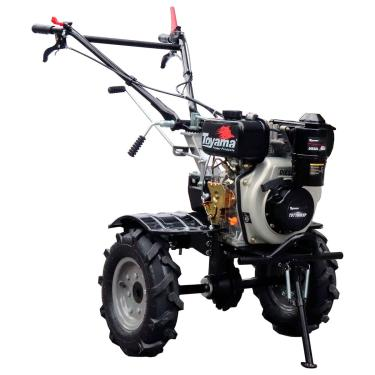 Imagem de Motocultivador A Diesel 4T Toyama Tdt100r-Xp 247Cc Partida Manual