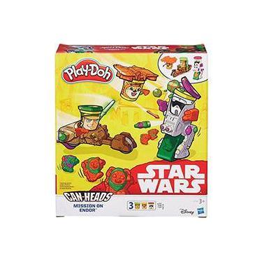 Imagem de Conjunto Play-Doh Star Wars Veículo Mission On Endor - Hasbro