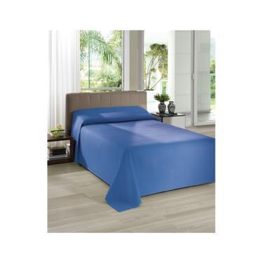 293f2d09c9 Colcha Piquet 100% Algodão Lisa Casal Dohler - Azul